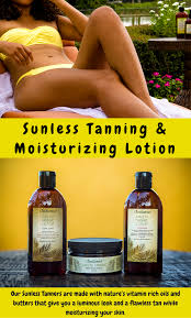 get a beautiful deep dark tan without a tanning bed or the sun