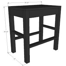 stunning how to make a vanity stool 39 with additional home