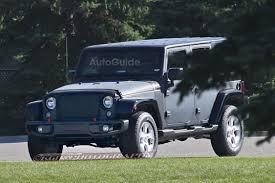 jeep liberty 2018 2018 jeep wrangler mules spied testing autoguide com news