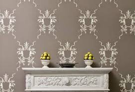 painting stencils for wall art luxury design stencil wall art also smartness nice motif fun