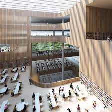 Library Design Schmidt Hammer Lassen Architects Wins Shanghai Library Competition