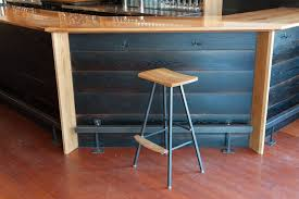Modern Bar Furniture by Modern Wood Bar Stool Stauffer Woodworking