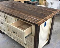 custom made kitchen islands kitchen islands etsy
