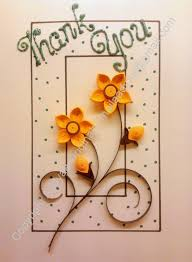 beautiful card pinterest thank you cards quilling