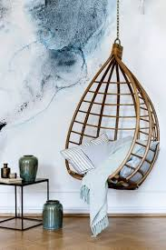 pod hanging chair with cushion swing in bedroom ablimous egg