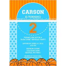 basketball birthday invitations u2013 gangcraft net