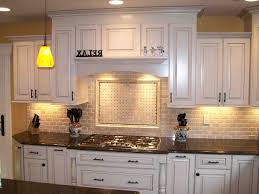 Backsplash Ideas For Kitchens With Granite Countertops Kitchen Backsplash With Black Granite Countertops And White