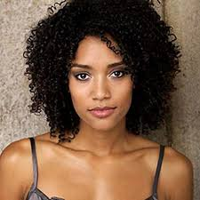 medium length black curly hairstyles for black women up