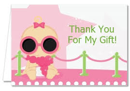 baby shower thank you cards baby shower thank you cards a is born white pink