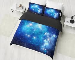 Space Bed Set Space Bedding Etsy