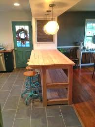 Kitchen Island With Wheels Diy Kitchen Island On Wheels For Kitchen Island Cart With Plans