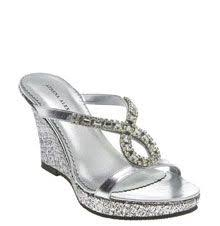 silver wedding shoes wedges silver wedge wedding shoes are in this season tamee