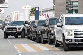 ford trucks ford trucks celebrates centenary with 200 vehicle convoy in