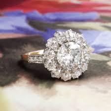 art deco engagement ring circa 1930 u0027s 1 98ct t w old european cut