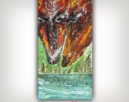 Home Design Ideas Nandita Animal Bull Painting Bull Skull Wall Decor Animal Painting