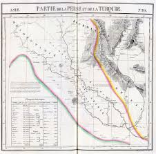 Middle East Physical Map by The British Empire And The Middle East Maps