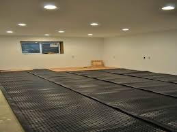 Diy Basement Flooring Basement Subfloor With Best Flooring For Moist Basement With