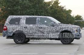 Fords New Bronco Spied New Ford Expedition On Its Way For 2018