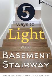 what is the best lighting for a sloped ceiling basement stairway lighting ideas that will actually make you