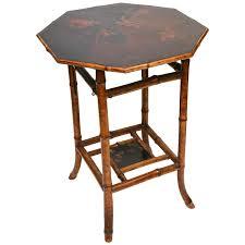Vintage Bamboo Patio Furniture - vintage rattan tray table shelf wicker side by tarnishedhinge