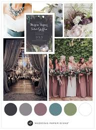 fall wedding color palette wedding theme ideas for fall 2017 muted hues for fall wedding