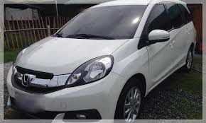 honda mobilio philippines rent a 2015 honda mobilio automatic php1 140 day starting rate