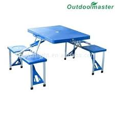 Plastic Folding Picnic Table Fascinating Folding Picnic Table And Chair Novoch Me