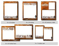 sports basketball cutouts vol 12 photoshop and elements templates