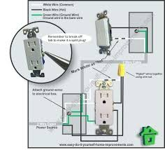 wiring an outlet to a light switch wire a light from an outlet re figure wire outlet off light switch