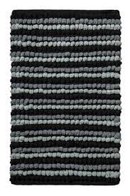 Black And White Bathroom Rug by Archangel Bath Rug 1pc Pebble Ball Plush And Hand Crafted Blue