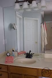 Mosaic Bathroom Mirrors by No Grout Mosaic Tile Mirror The Diy Village