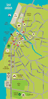 fiji resort map about the resort