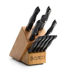 essentials 5 set with block 12 pieces knife block sets by cutco