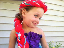 Mermaid Toddler Halloween Costume Mermaid Hair Princess Dress Dress Hair