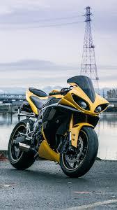 yamaha r1 wallpapers yamaha yzf r1 yellow bike wallpapers 1080x1920 514179