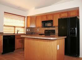 Black Appliances Kitchen Ideas Kitchen Ideas With Black Appliances Matching Wooden Bar Stool