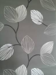 black and white wallpaper ebay silver leaf wallpapers group 48