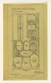 Floor Plan Of An Apartment Photostat Ground Plan Of An Apartment In The Apartment Building