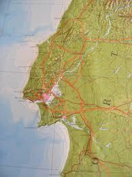 Iberian Peninsula Map Relief Map Of The Iberian Peninsula Large As 3d Map