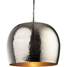 brass pendant ceiling light firstlight assam large single light ceiling pendant with nickel and