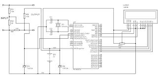 arduino voltmeter wiring diagram components