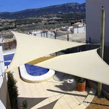Triangle Awning Canopies New Sun Shade Sail Outdoor Triangle Awning Canopy Terrace Shelter