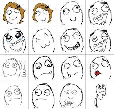All The Meme Faces - meme cartoon faces brushes set free photoshop