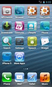 iphone 6 launcher for android transform your android device into an iphone 5 running ios 6 using