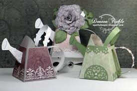 a path of paper heartfelt creations watering cans