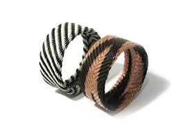 hand woven bracelet images South african hand woven telephone wire bracelet original women jpg