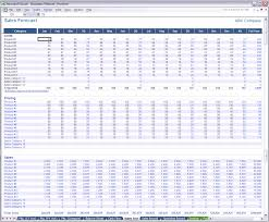 Sales Forecast Spreadsheet Exle by Excel Business Planner Sales Forecast