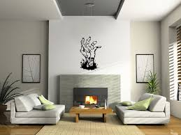 Wall Quotes For Living Room by Zombie Walking Dead Hand Wall Decal Sticker Large Horror Evil Cool