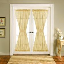 Curtain Patio Door Backyard Door Curtains Patio Door Curtain Rod Size Without Center