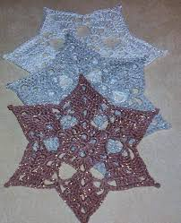 448 best crochet snowflakes images on crochet